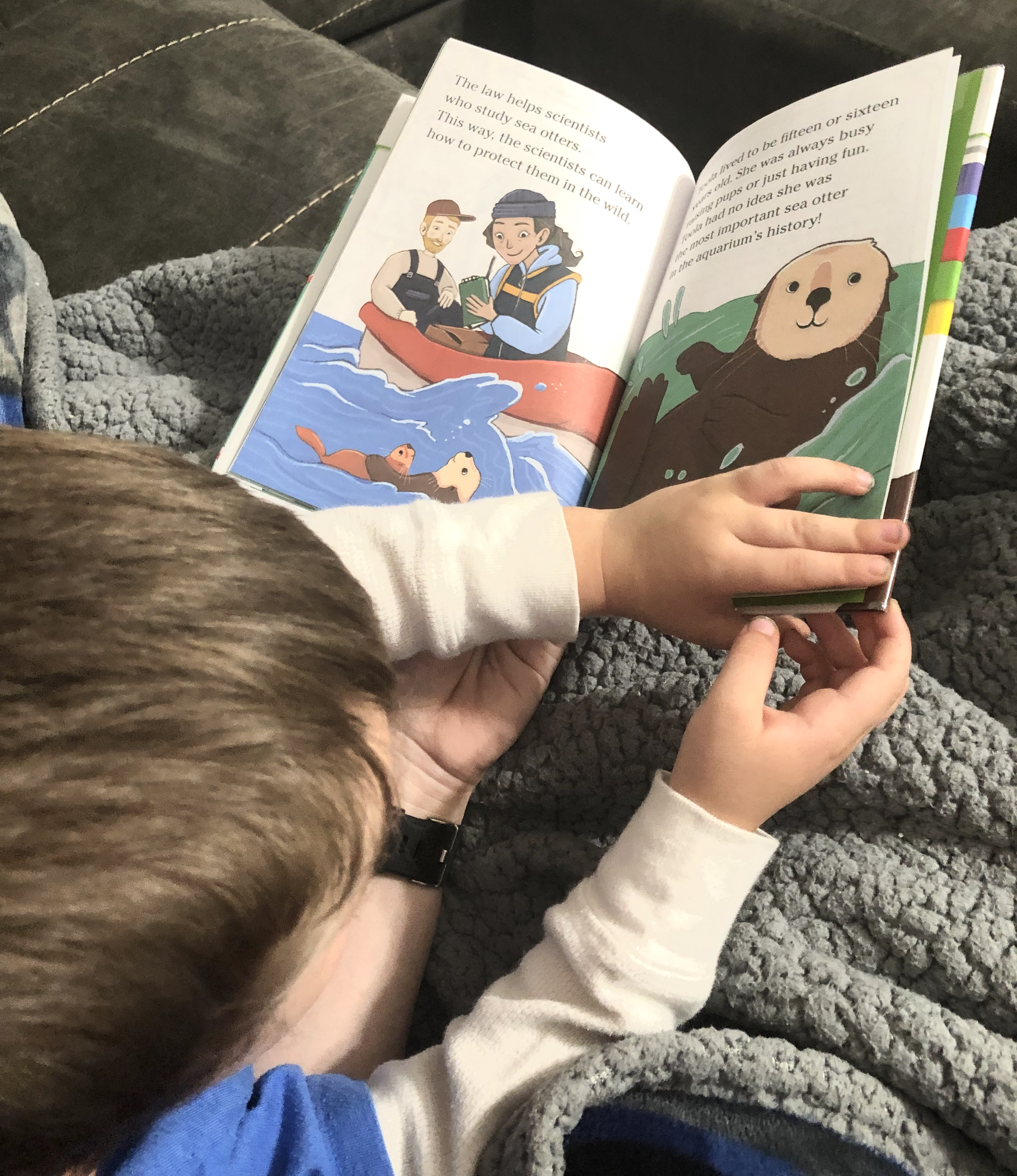 Reading to Andrew