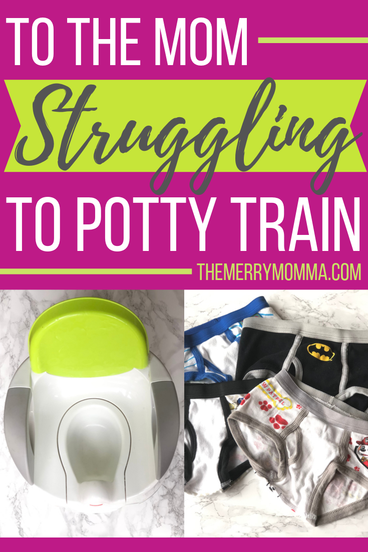 Potty Training Struggles