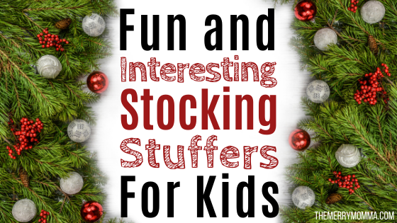 Fun and Interesting Stocking Stuffers for Kids