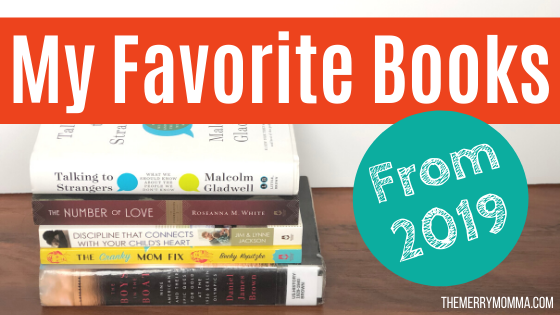 My Favorite Books From 2019