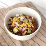 Thick & Hearty Crockpot Chili
