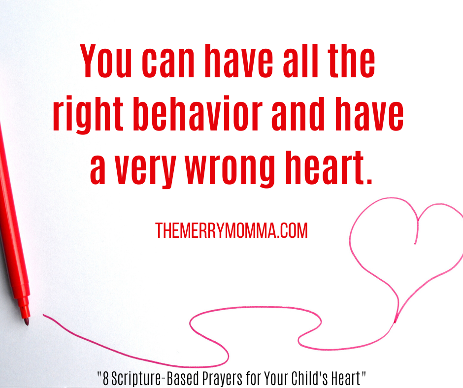 Right behavior, wrong heart