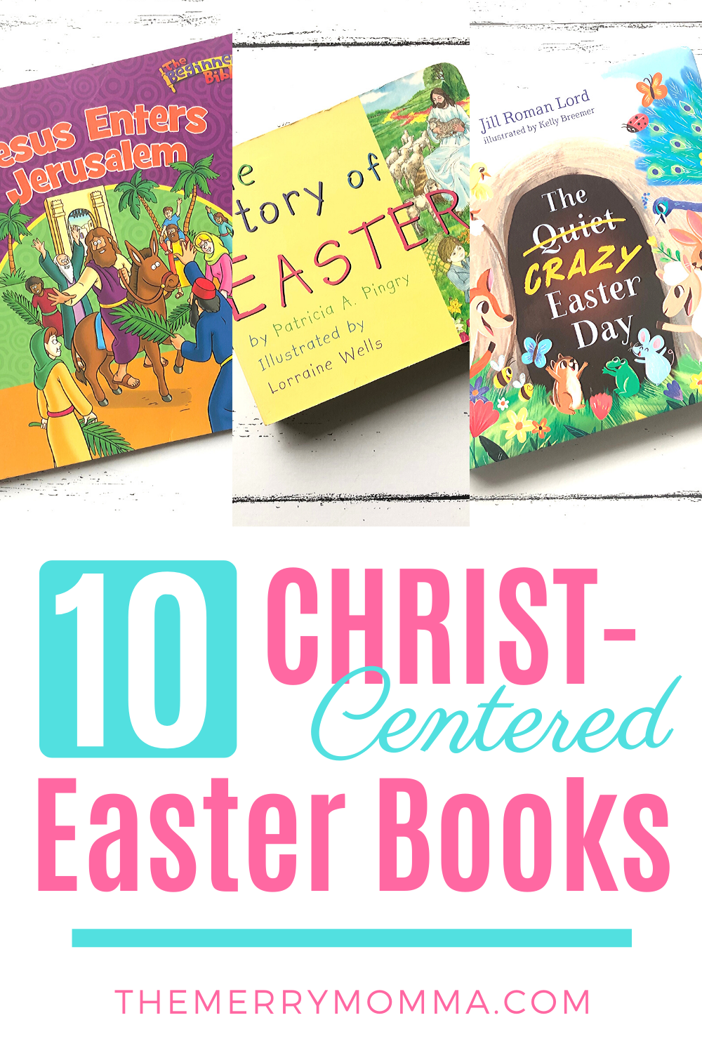 10 Christ-Centered Easter Books