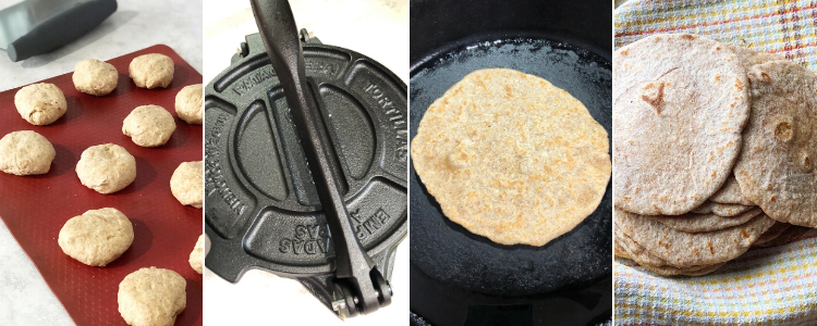Making Homemade Tortillas