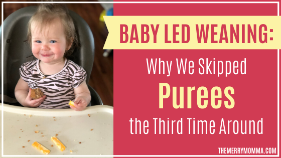 Baby Led Weaning: Why We Skipped Purees