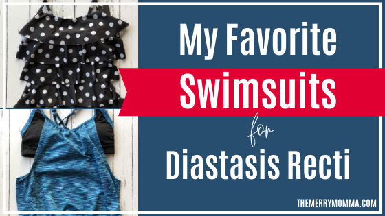 My Favorite Swimsuits for Diastasis Recti