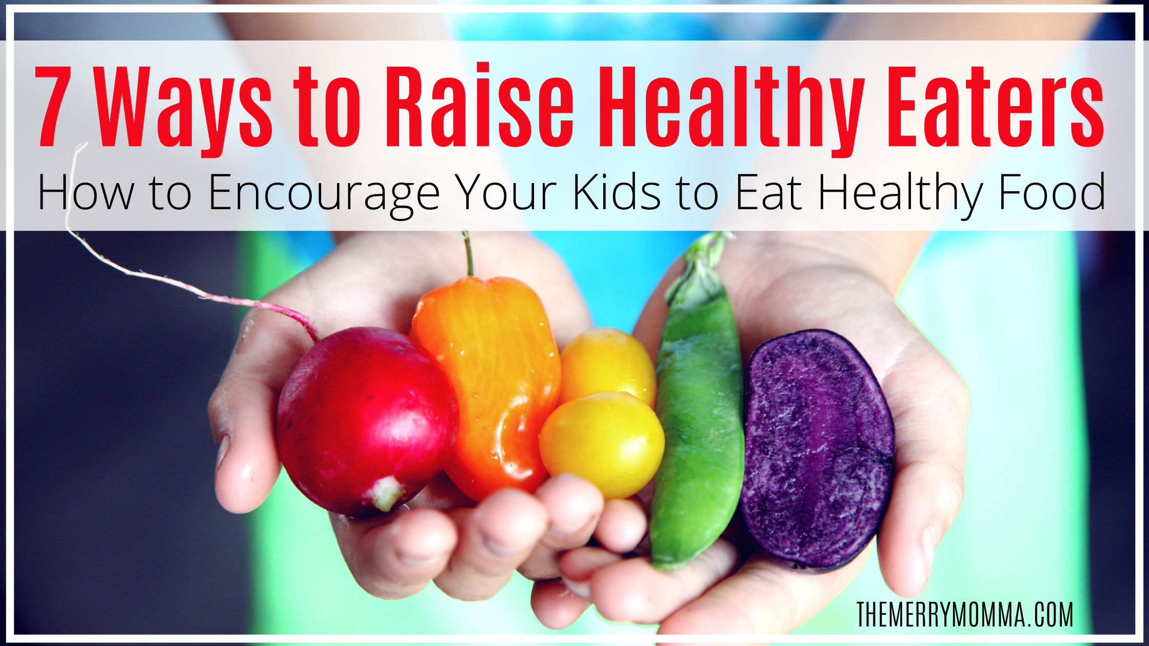 Raise Healthy Eaters | Get your kids to eat healthy food