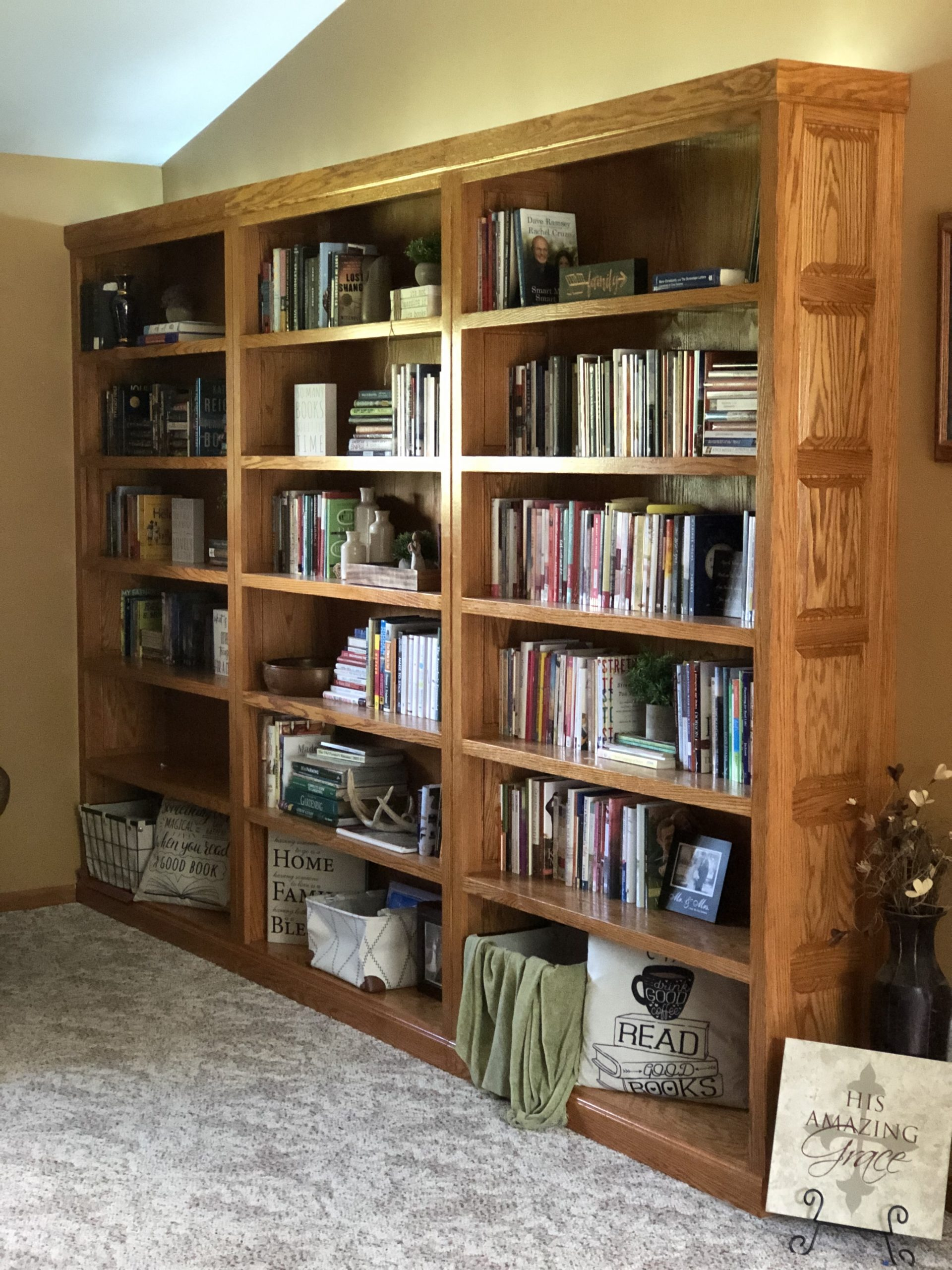 My complete set of bookcases