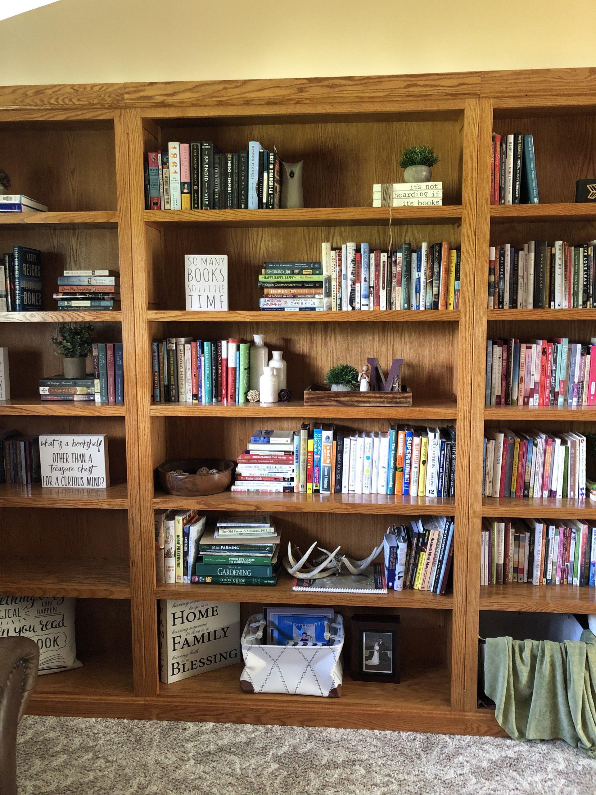 Middle bookcase -- General nonfiction