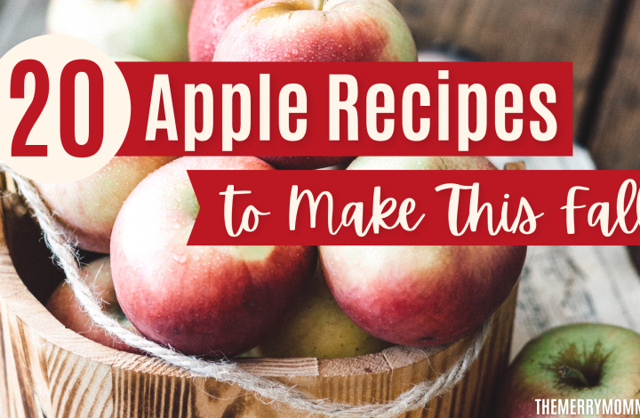 20 Apple Recipes to Make This Fall | The Merry Momma