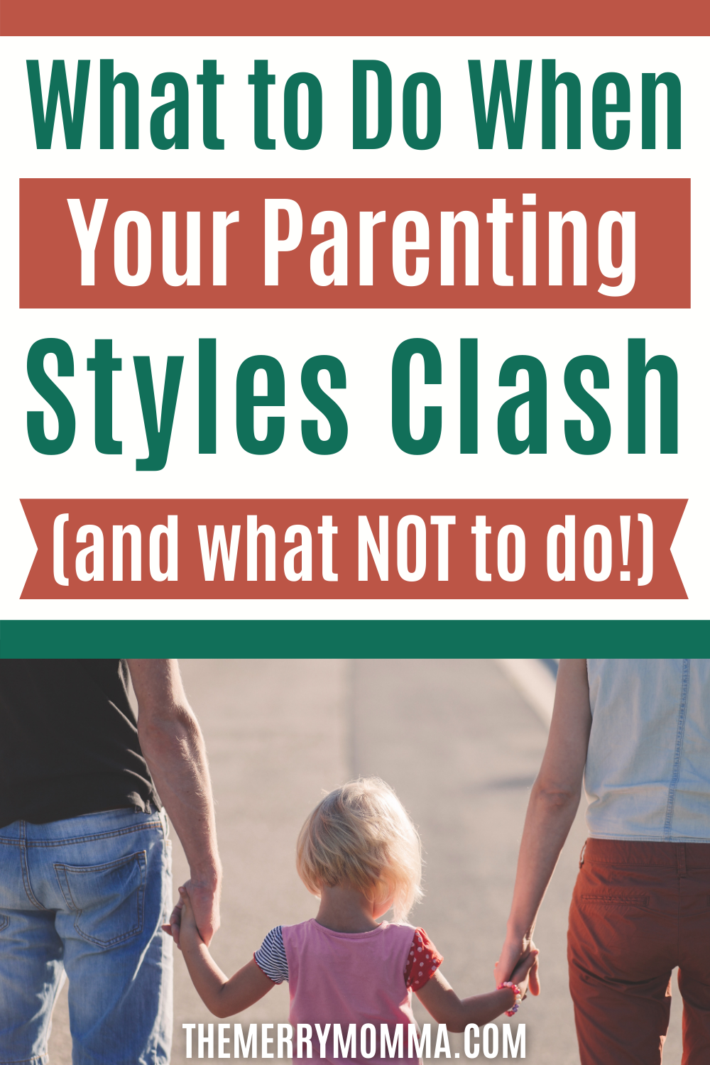 What to Do When Your Parenting Styles Clash | The Merry Momma