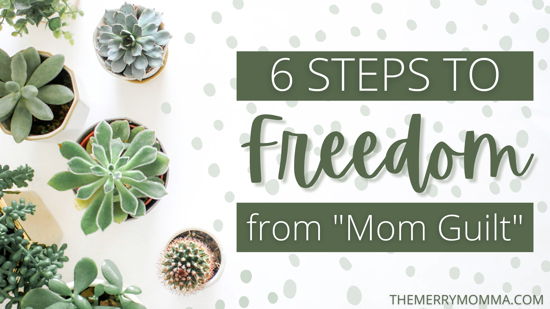 "6 Steps to Freedom From ""Mom Guilt"" 