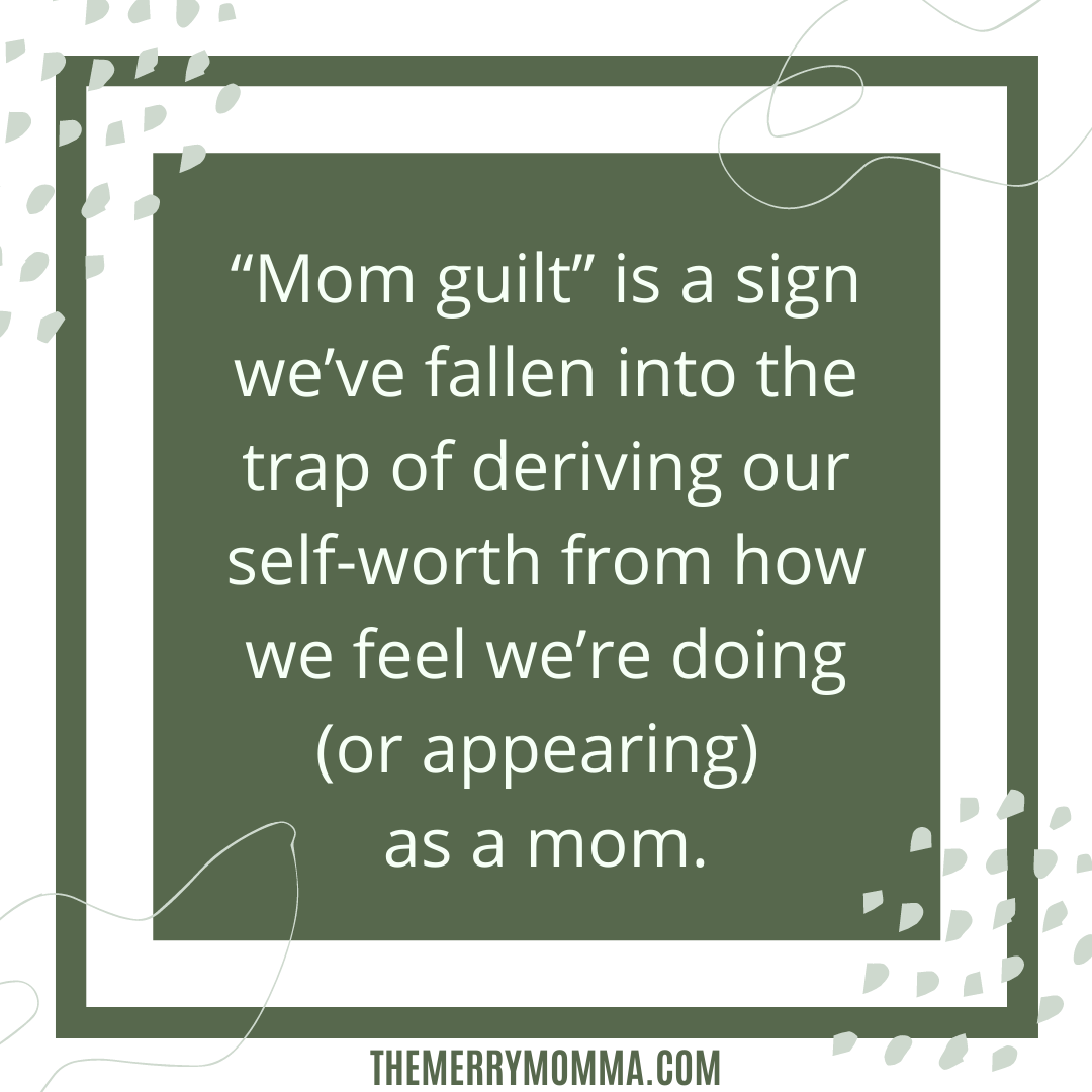 Mommy Guilt graphic: Pride