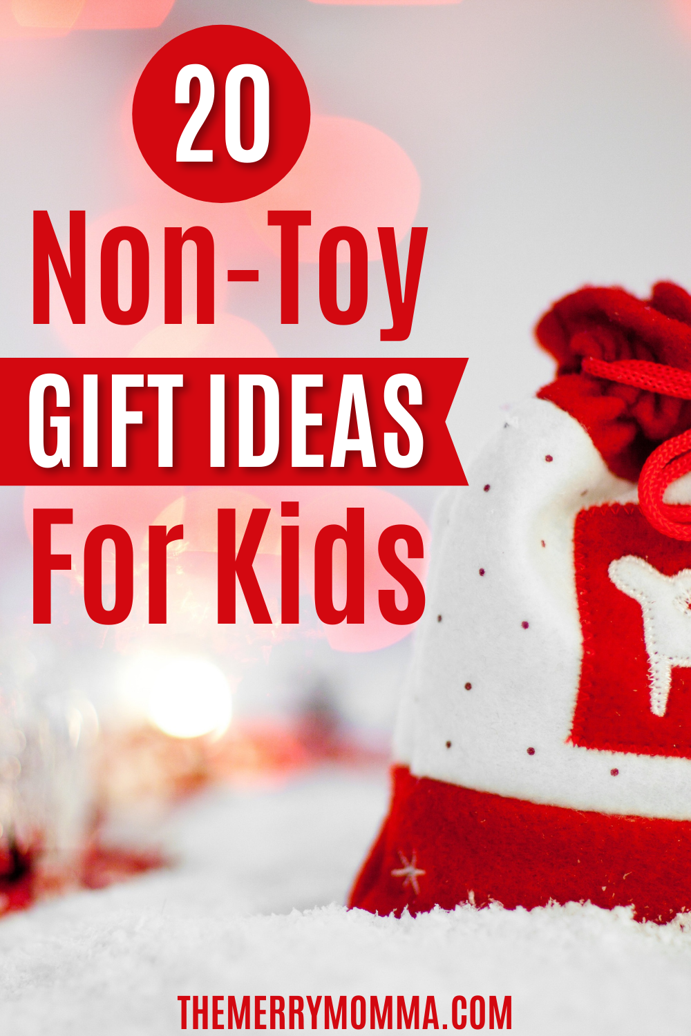 20 Non-Toy Gift Ideas for Kids | The Merry Momma