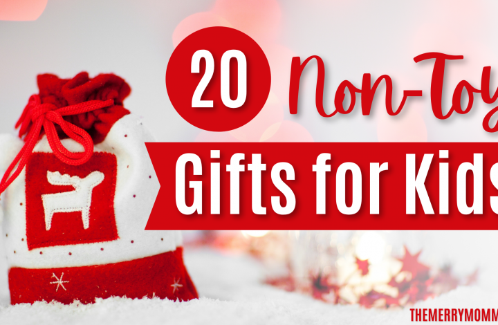20 Non-Toy Gifts For Kids | The Merry Momma