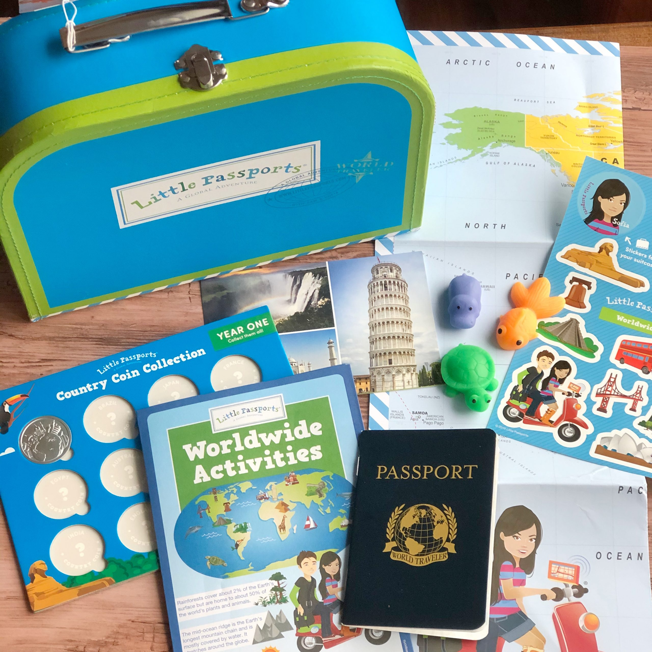 Little Passports non-toy gift for kids