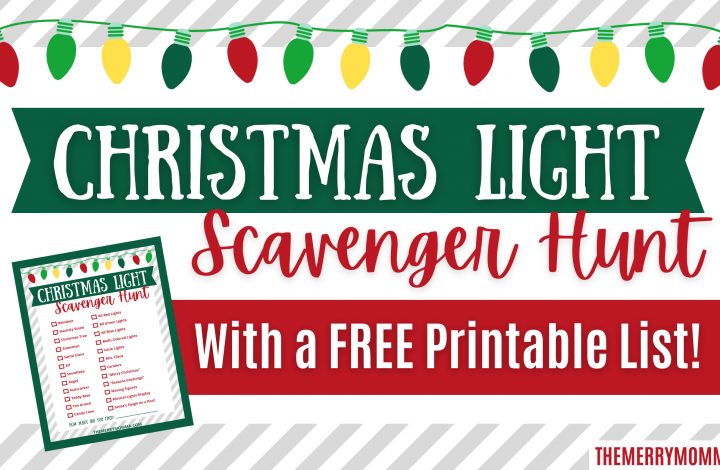 Christmas Light Scavenger Hunt | The Merry Momma