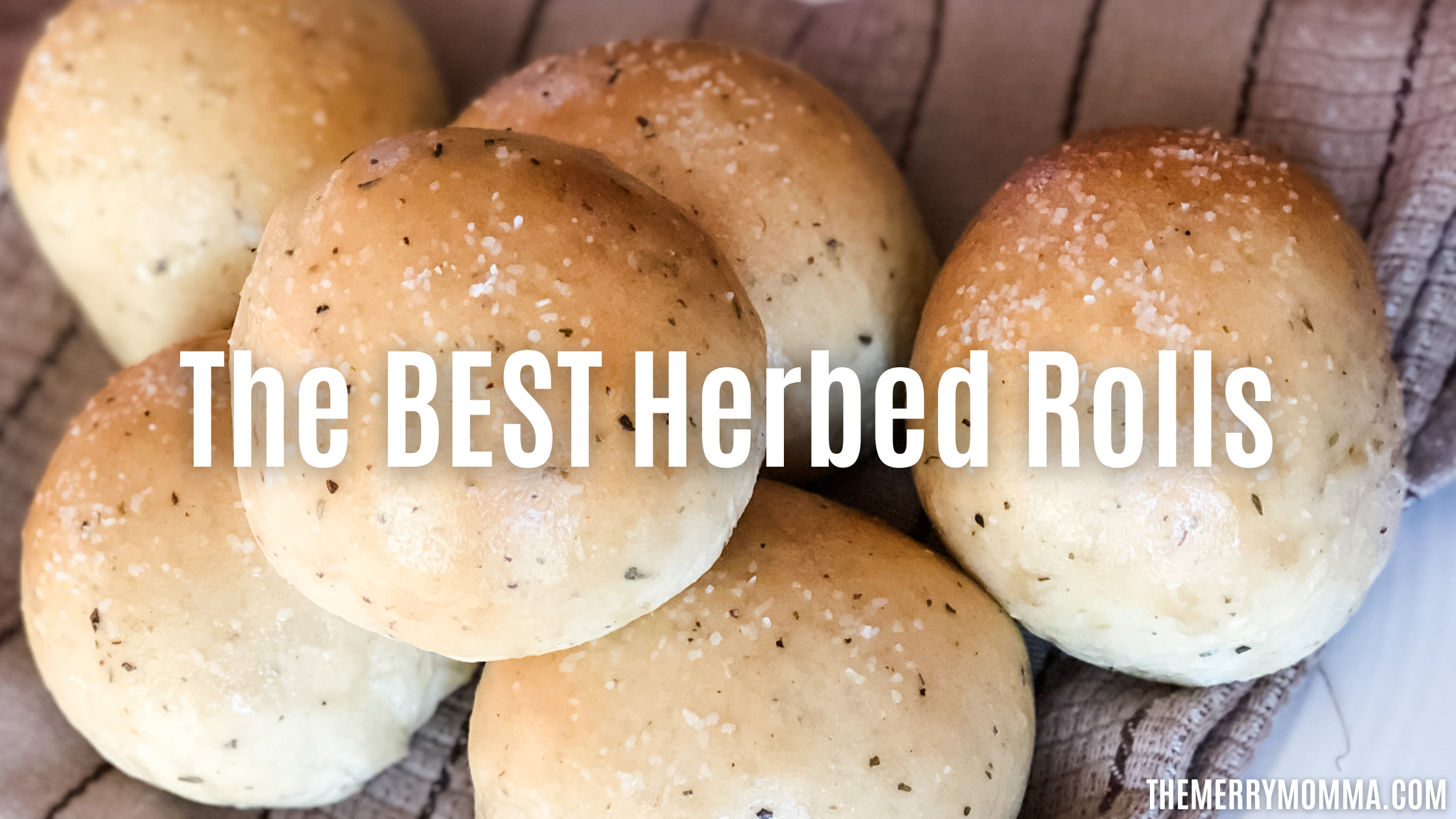 The BEST Herbed Rolls {Bread Machine Recipe}   The Merry Momma
