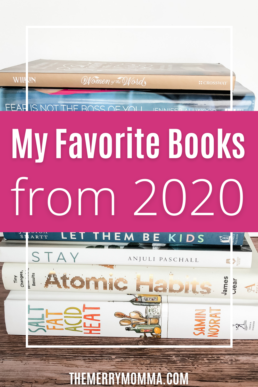 My Favorite Books I Read in 2020 | The Merry Momma