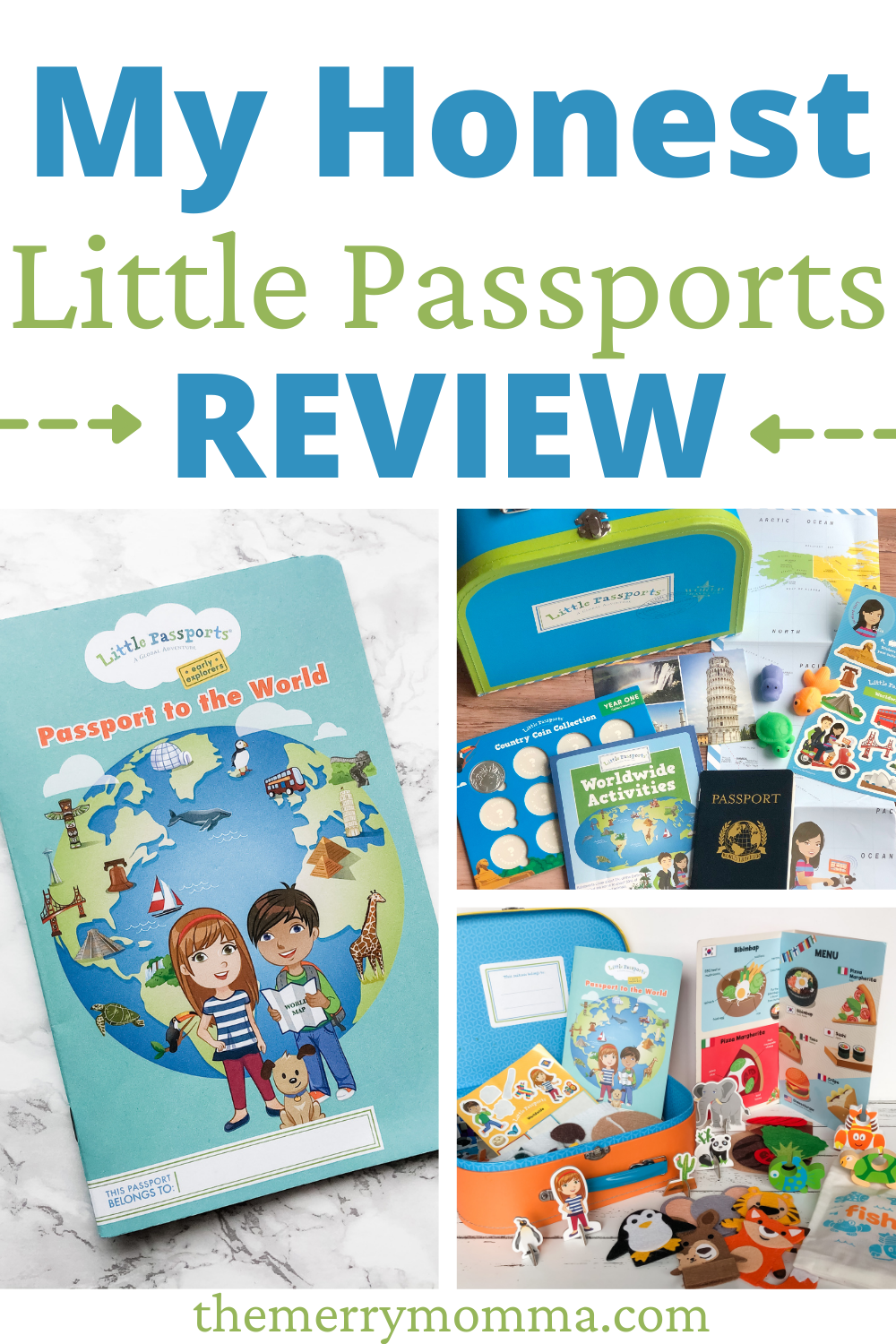 My Honest Little Passports Review | The Merry Momma