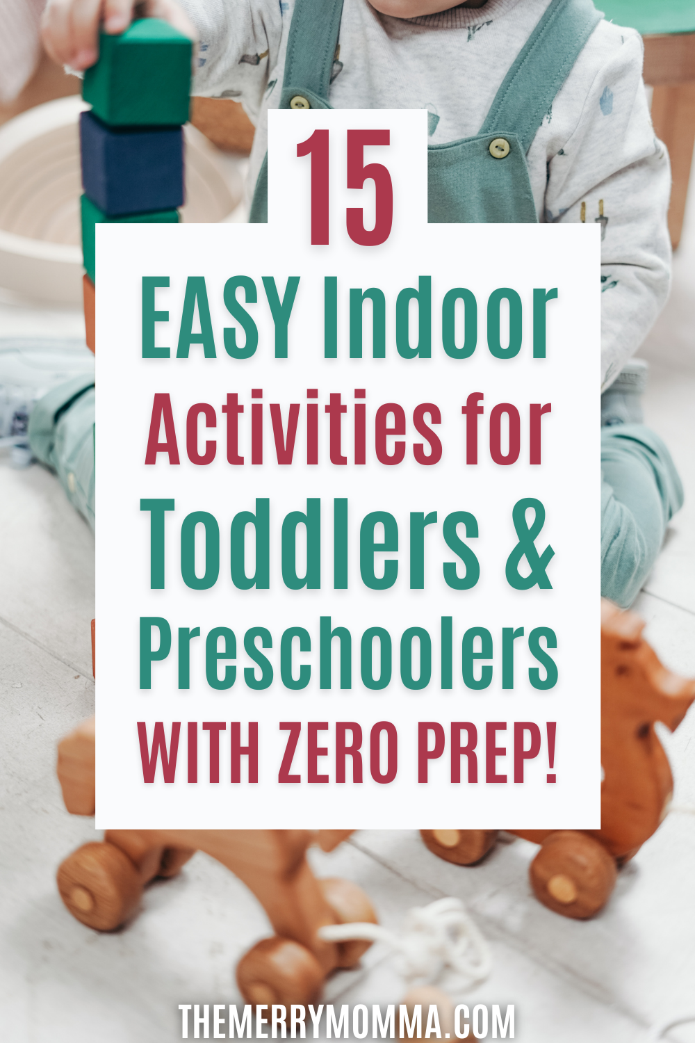 15 Easy Indoor Activities for Kids With No Prep