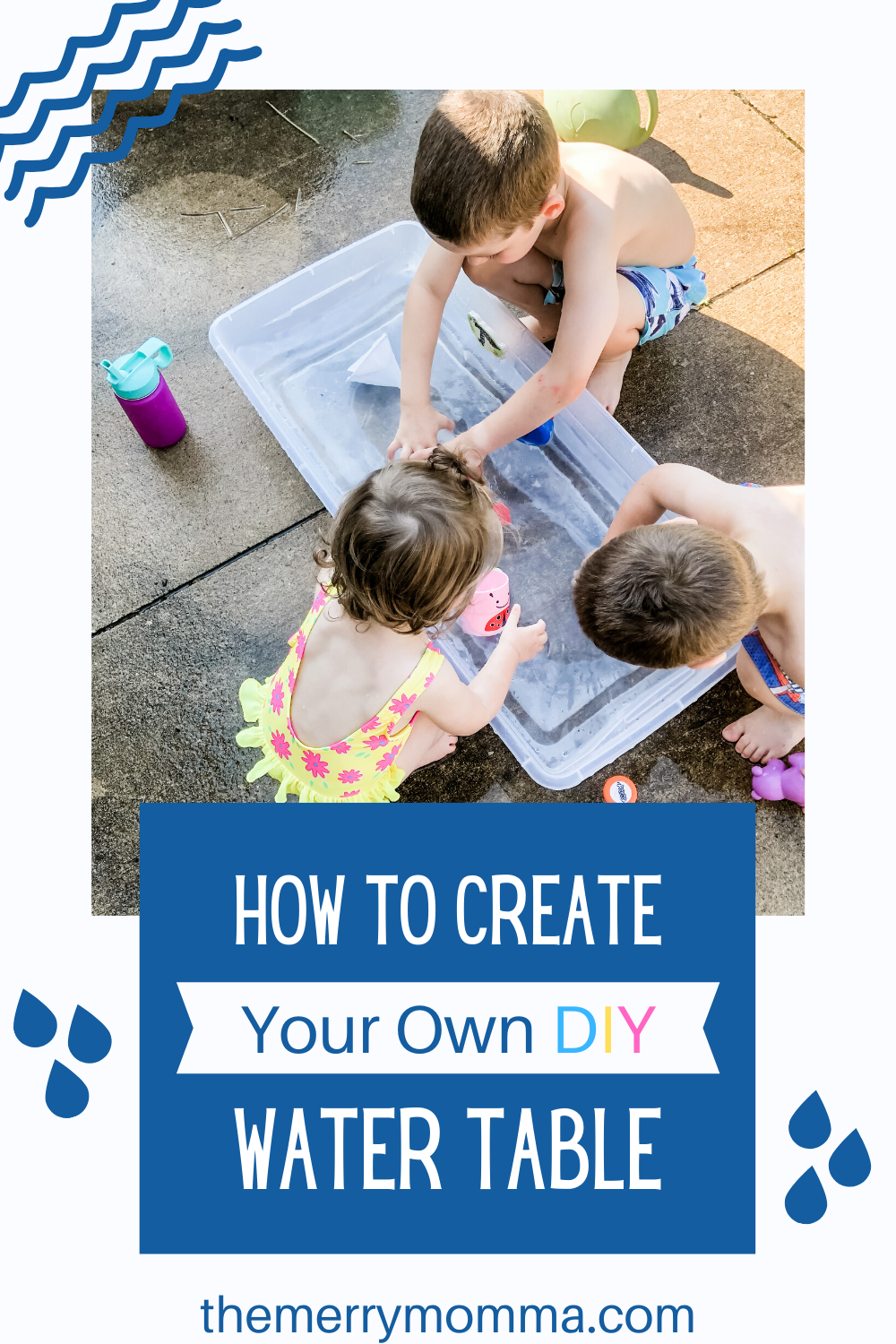 How to Make Your DIY Water Table pin image