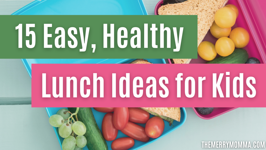 15 Easy, Healthy Lunch Ideas for Kids