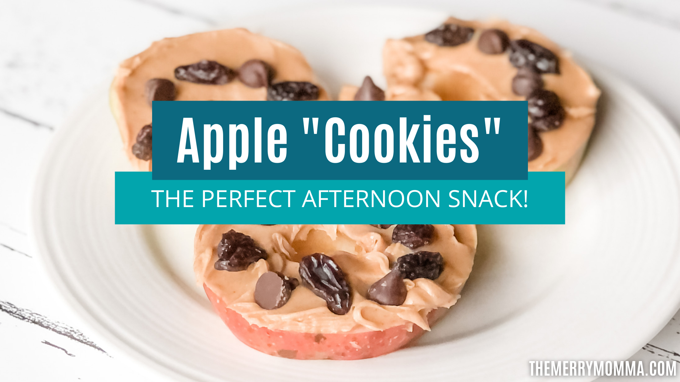 """Apple """"Cookies"""": The Perfect Afternoon Snack"""