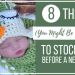 8 Things (You Might Be Forgetting) To Stockpile Before Baby